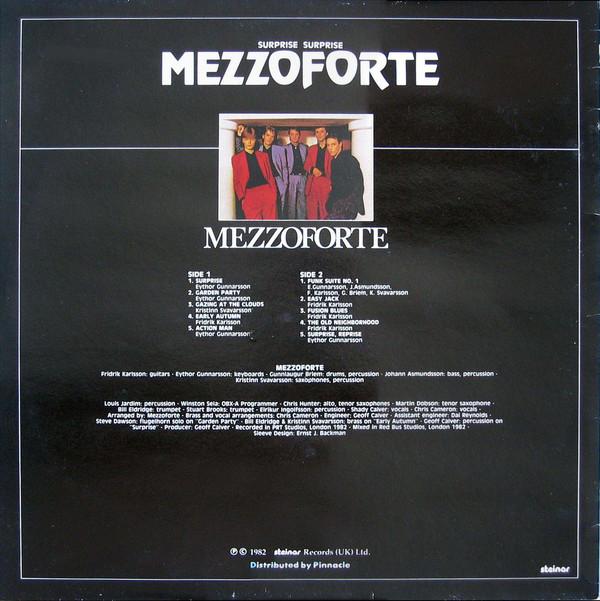 Mezzoforte – Þvílíkt Og Annað Eins (1981) and Surprise Surprise (1982) 4