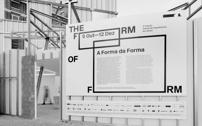 The Form of Form, 4th edition of the Lisbon Architecture Triennale 1