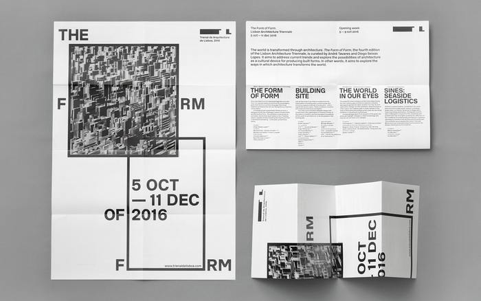 The Form of Form, 4th edition of the Lisbon Architecture Triennale 5