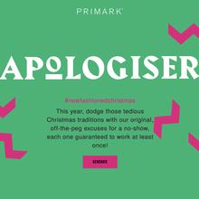 Primark Apologiser