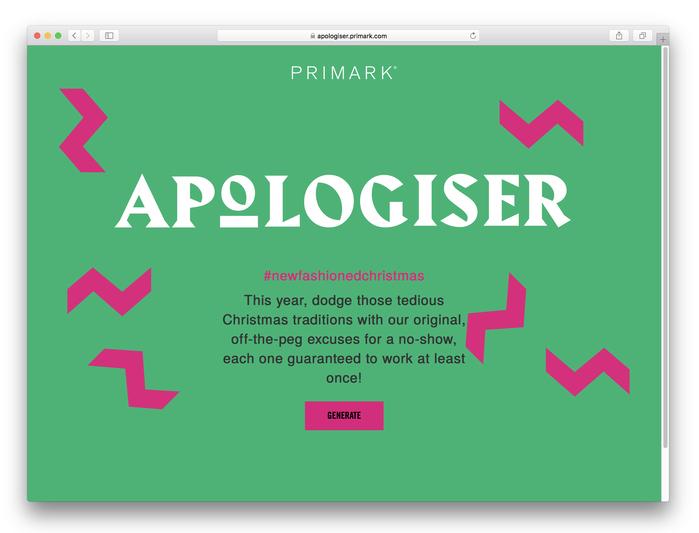 Primark Apologiser 1
