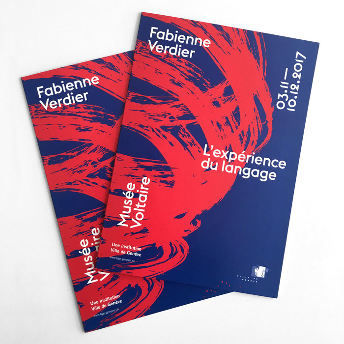 Fabienne Verdier – L'expérience du language, MuséeVoltaire 3