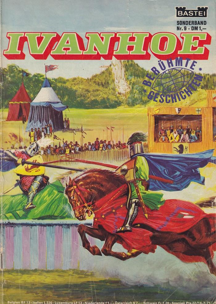 Ivanhoe by Walter Scott, Bastei edition