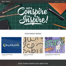 Wes Yonts design portfolio