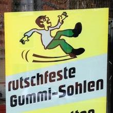 """""""Rutschfeste Gummi-Sohlen"""""""
