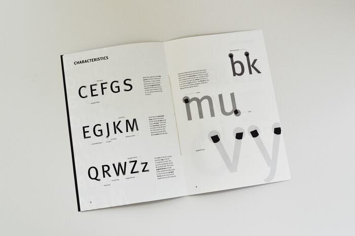 FF Meta type specimen 3