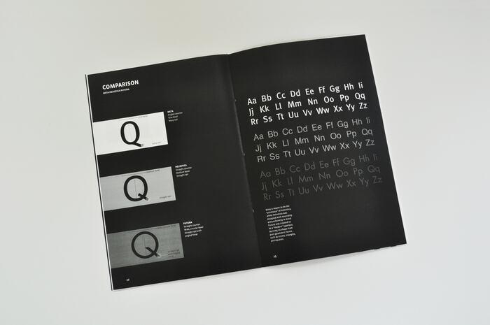 FF Meta type specimen 5