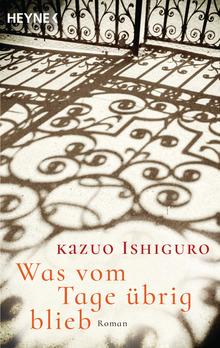 Kazuo Ishiguro, Heyne Verlag