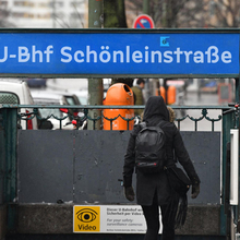 Berlin U-Bahn signs (fictional)