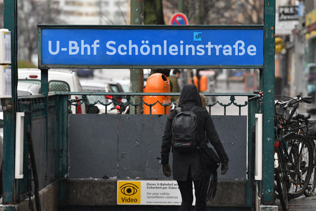 Berlin U-Bahn signs (fictional) 1