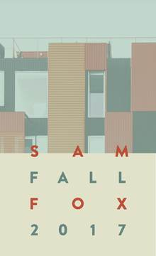Sam Fox Fall 2017 calendar