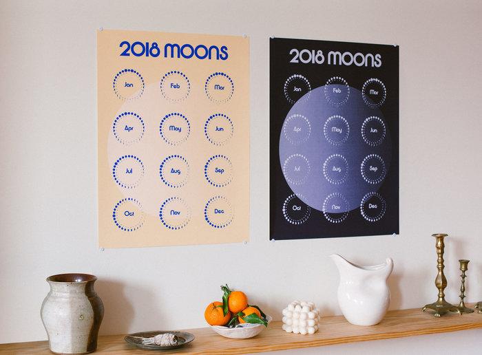 2018 Moons Calendar 4