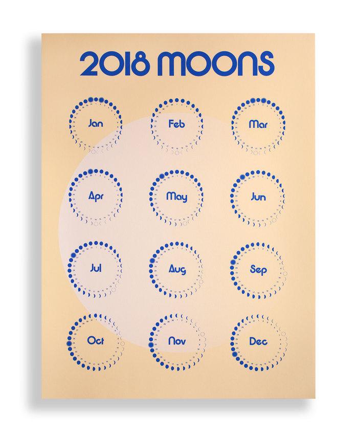 2018 Moons Calendar 2