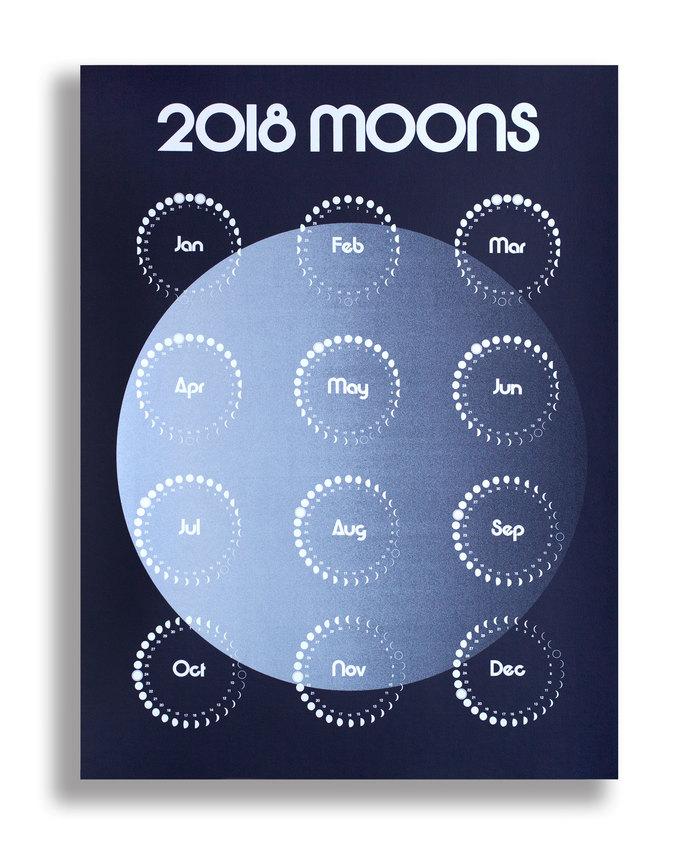 2018 Moons Calendar 3