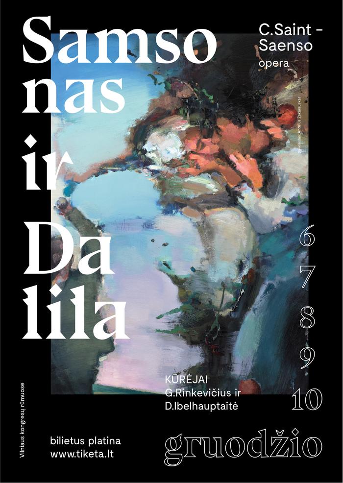 Samsonas ir Dalila, Vilnius City Opera