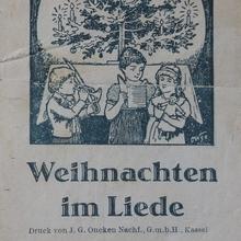 <cite>Weihnachten im Liede</cite>