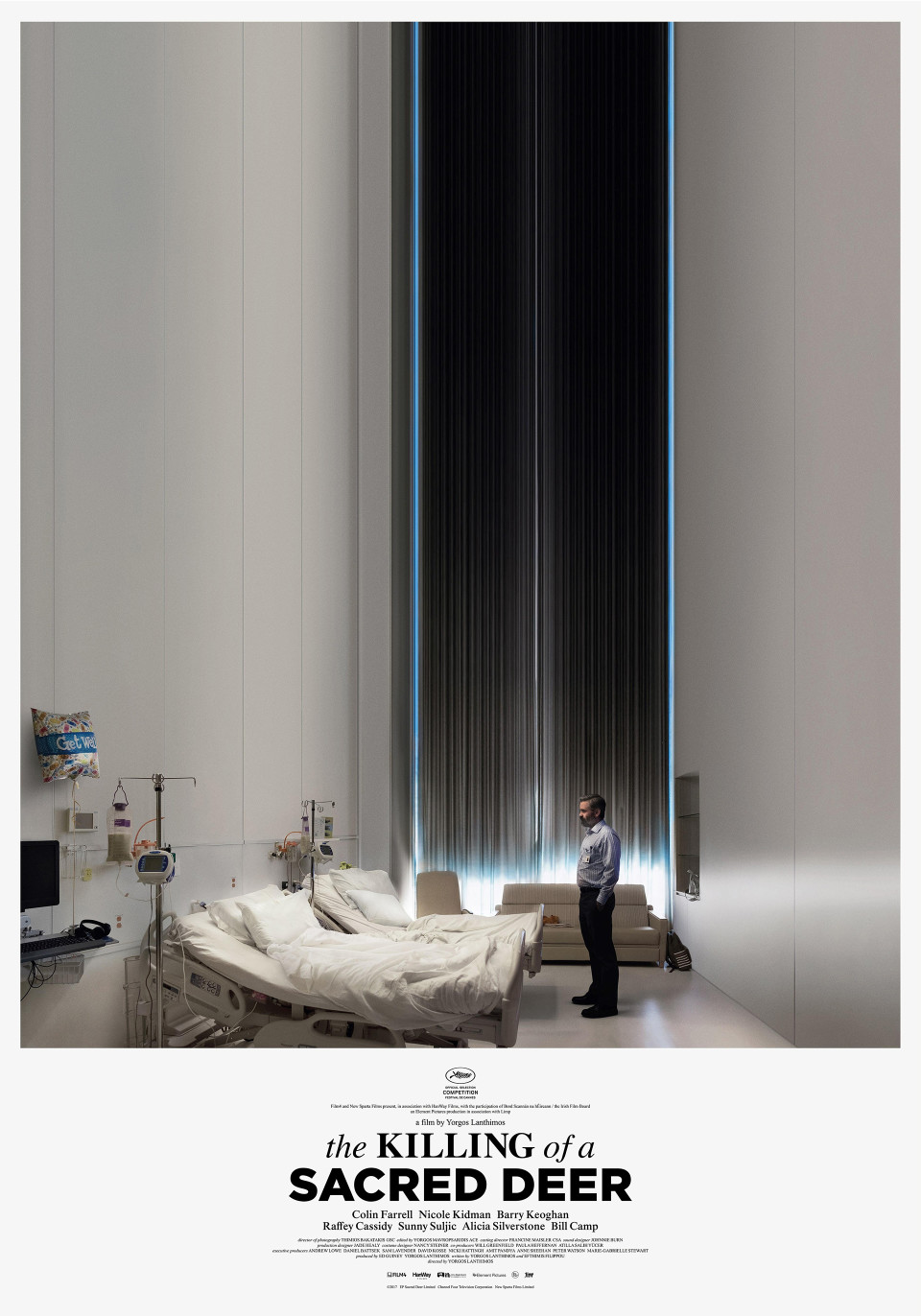 The Killing of a Sacred Deer movie posters - Fonts In Use