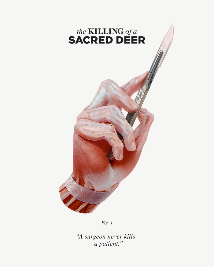 The Killing of a Sacred Deer movie posters​​​​​​​ 3