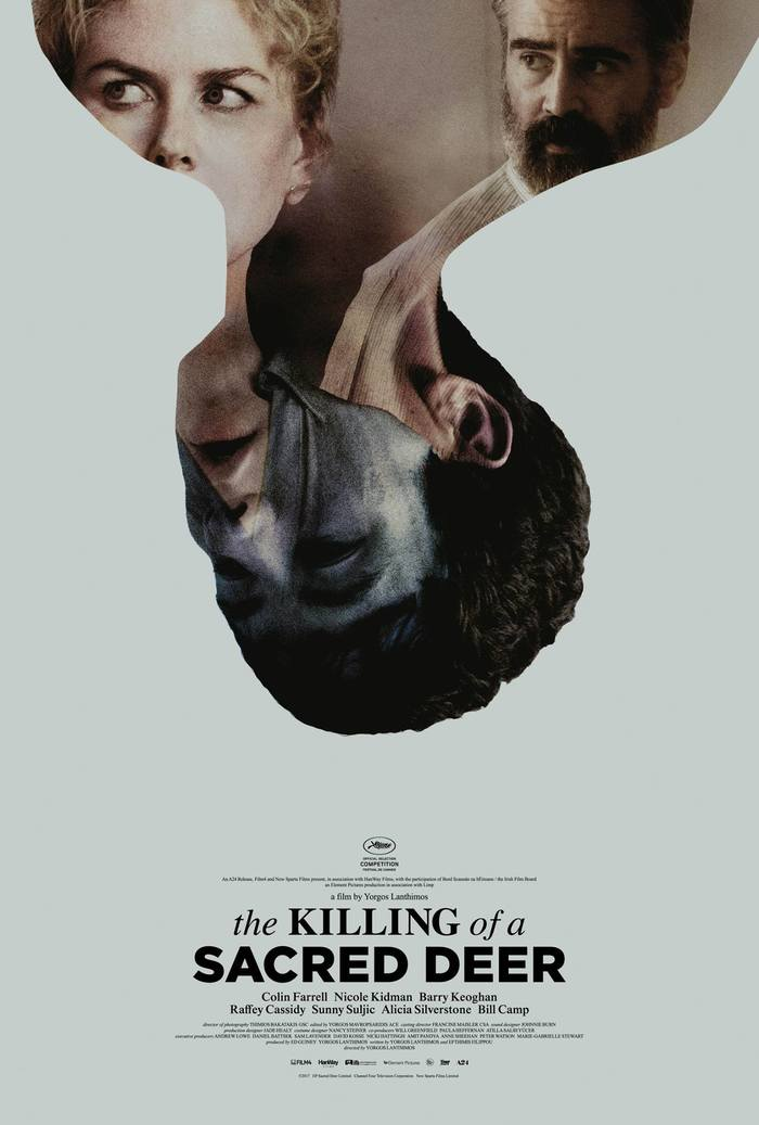The Killing of a Sacred Deer movie posters​​​​​​​ 2