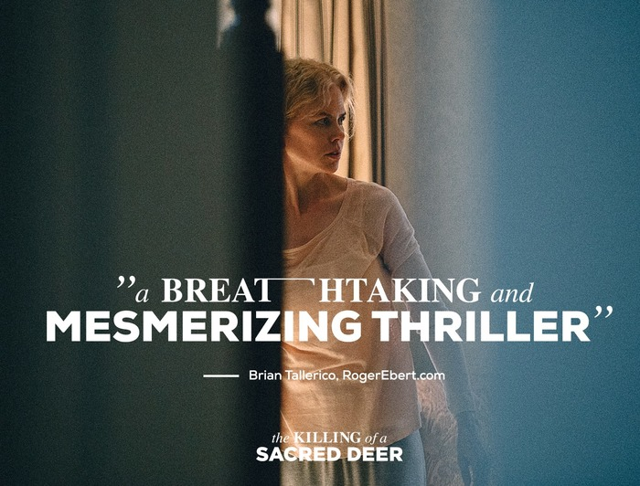 The Killing of a Sacred Deer movie posters​​​​​​​ 7