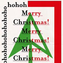 """Ohohoh! Merry Christmas!"" posters"