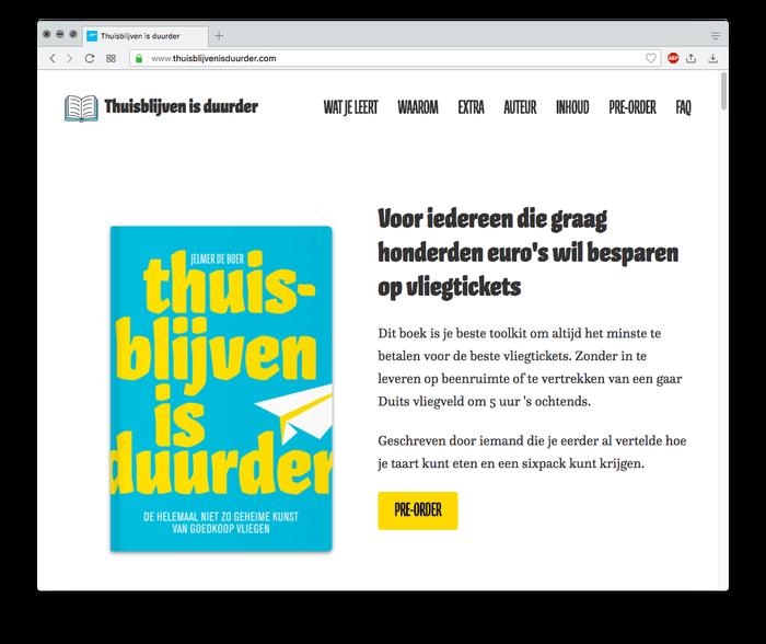 Thuisblijven is duurder by Jelmer de Boer 2