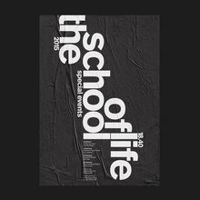 The School of Life special events poster