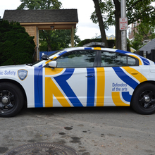 """Defender of the arts"" – RISD Public Safety cars"
