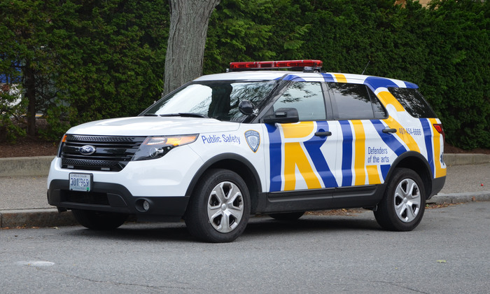 """Defender of the arts"" – RISD Public Safety cars 3"