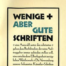 Gebr. Klingspor ads (1926)