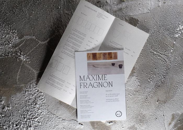 Maxime Fragnon exhibition 1