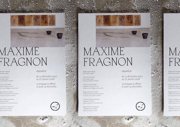 Maxime Fragnon exhibition 2