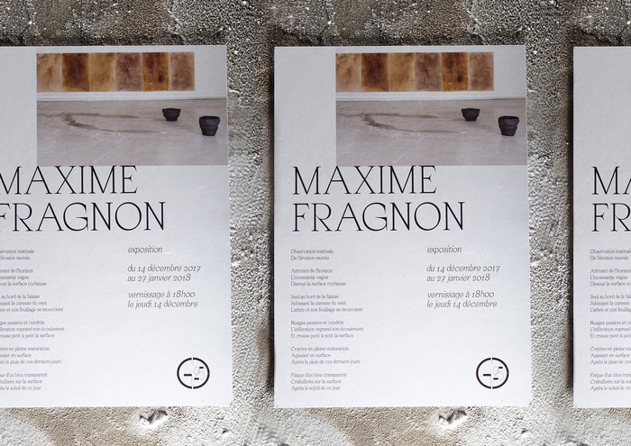 Maxime Fragnon exhibition 2