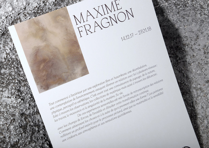 Maxime Fragnon exhibition 3