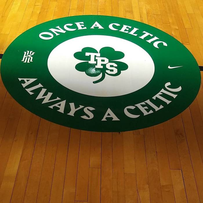 Patrick School gym renovation by Kyrie Irving & Nike 1