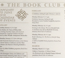 Book Club of California Events Calendar