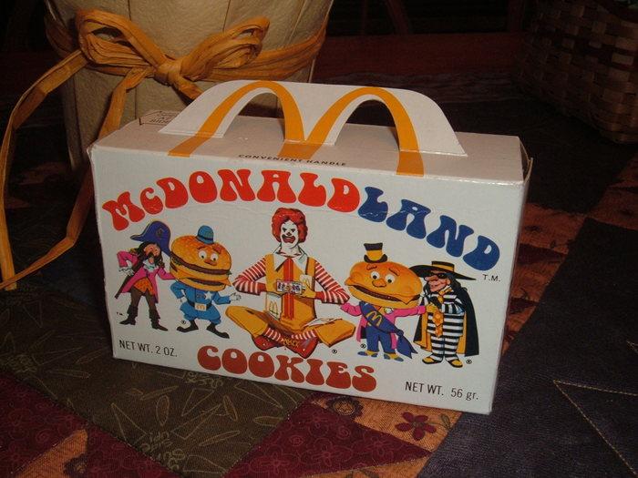 Cookie box, 1975