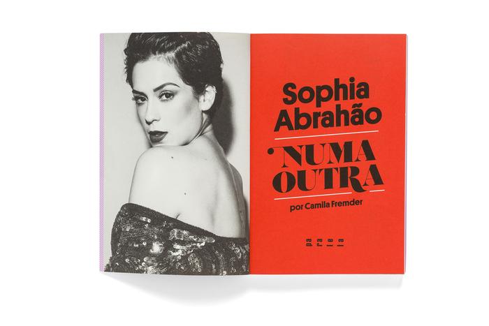 Sophia Abrahão. Numa outra by Camila Fremder 2