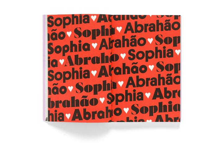 Sophia Abrahão. Numa outra by Camila Fremder 3