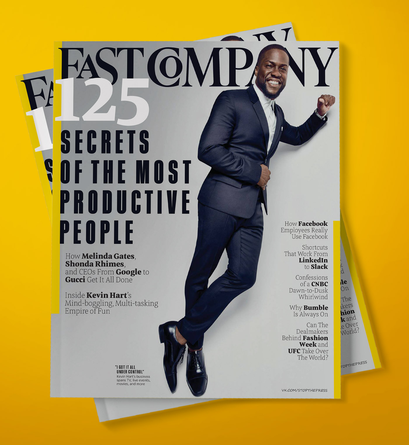 Fast Company Magazine Fonts In Use