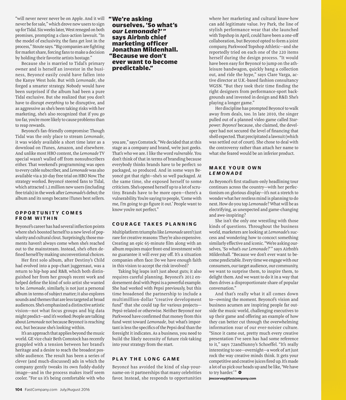 Fast Company magazine 19