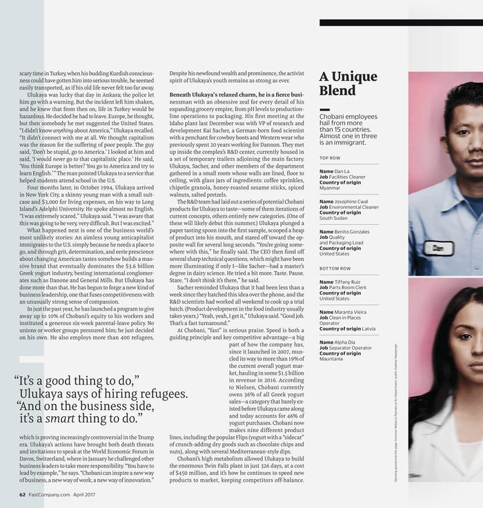 Fast Company magazine 22