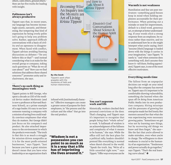 Fast Company magazine 26