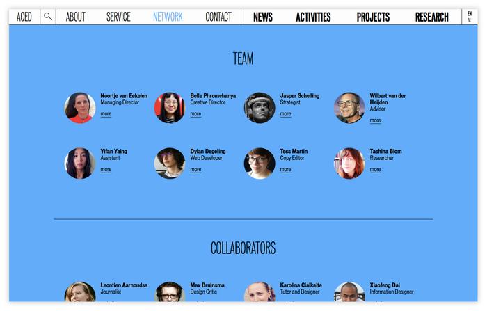 ACED Platform for Design and Journalism 4