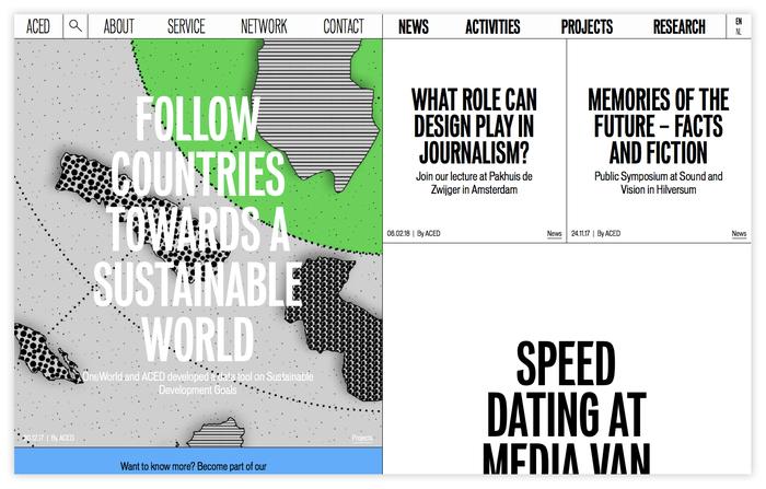 ACED Platform for Design and Journalism 2
