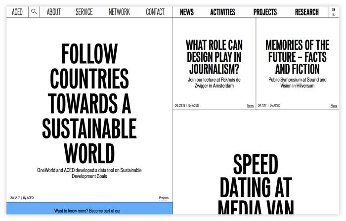 ACED Platform for Design and Journalism 1