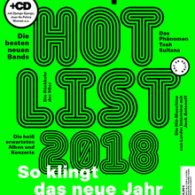 "<cite>Musikexpress</cite> 02/18, ""Hot List 2018"""