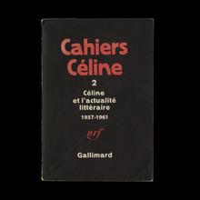 <cite>Cahiers Céline</cite>, Gallimard (1976–1988)