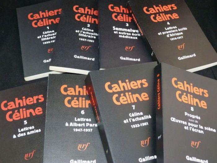 Cahiers Céline, Gallimard (1976–1988) 3