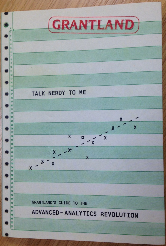 Talk Nerdy to Me: Grantland's Guide to the Advanced Analytics Revolution 1